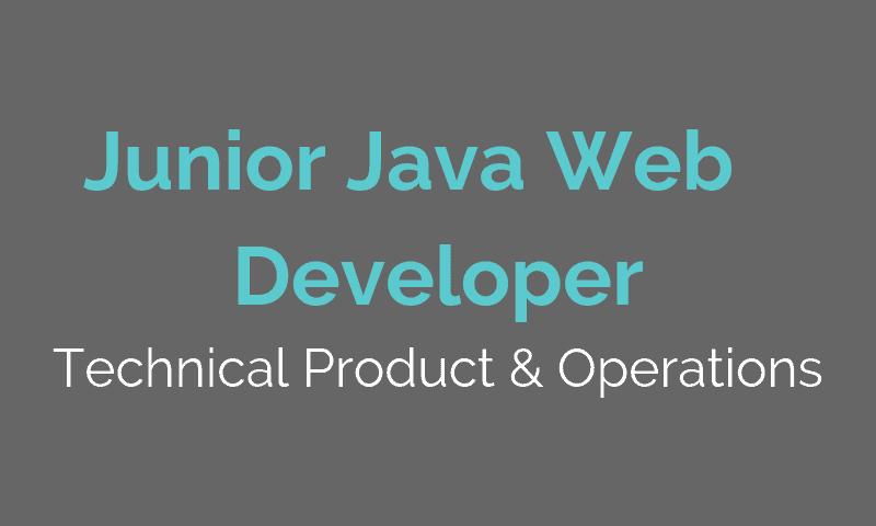 JOBS IT - Junior Java Web developer