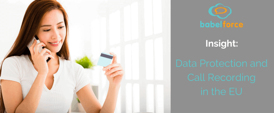 call center solution data protection