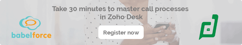 zoho desk integration webinar