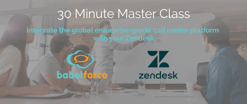 Zendesk integration with call center