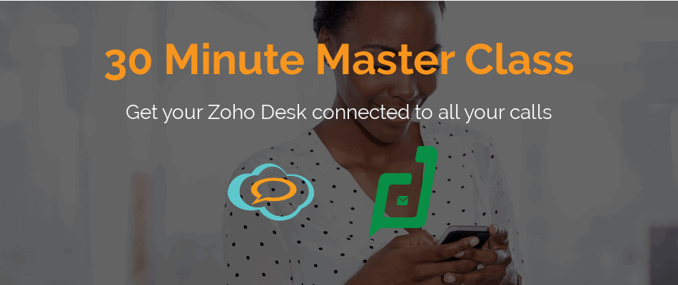 Zoho Desk call center integration
