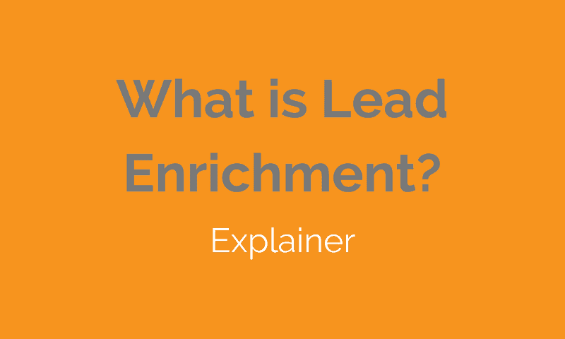 Lead Enrichment
