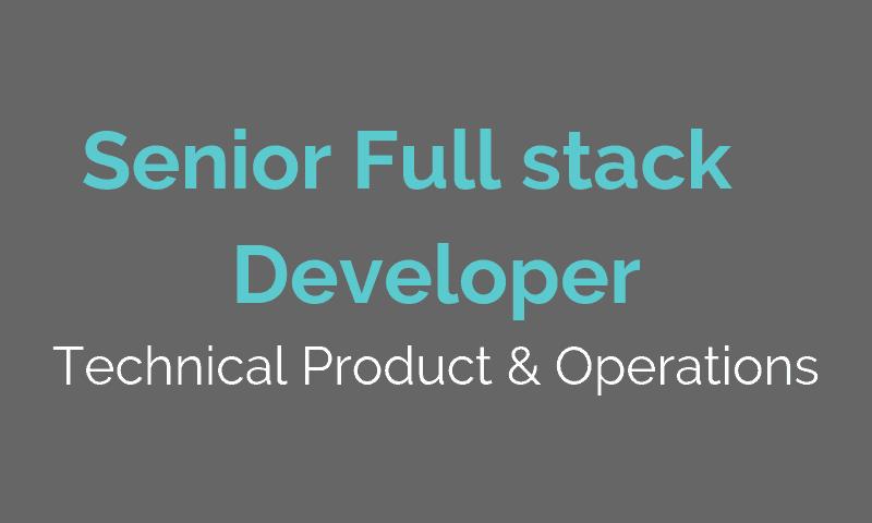 JOBS IT - Senior Full stack developer