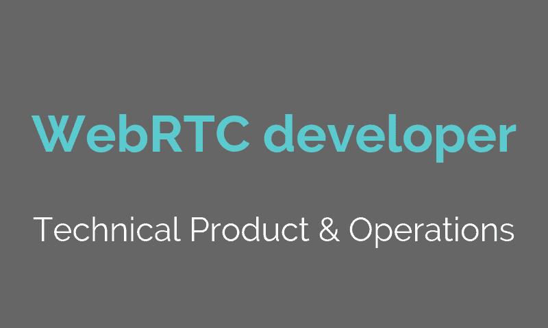 WebRTC Developer | babelforce