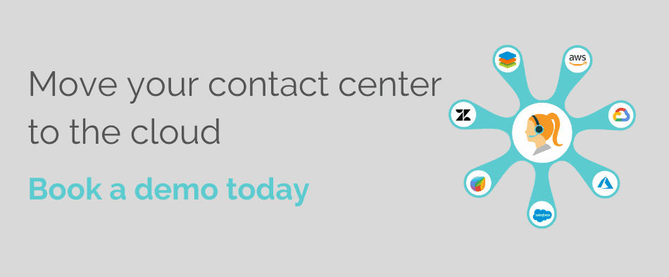 Move your contact center to the cloud - Book a demo