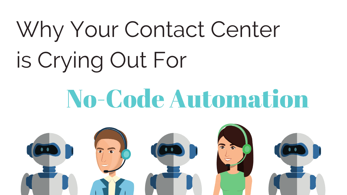Why you contact enter is crying out for no code automation