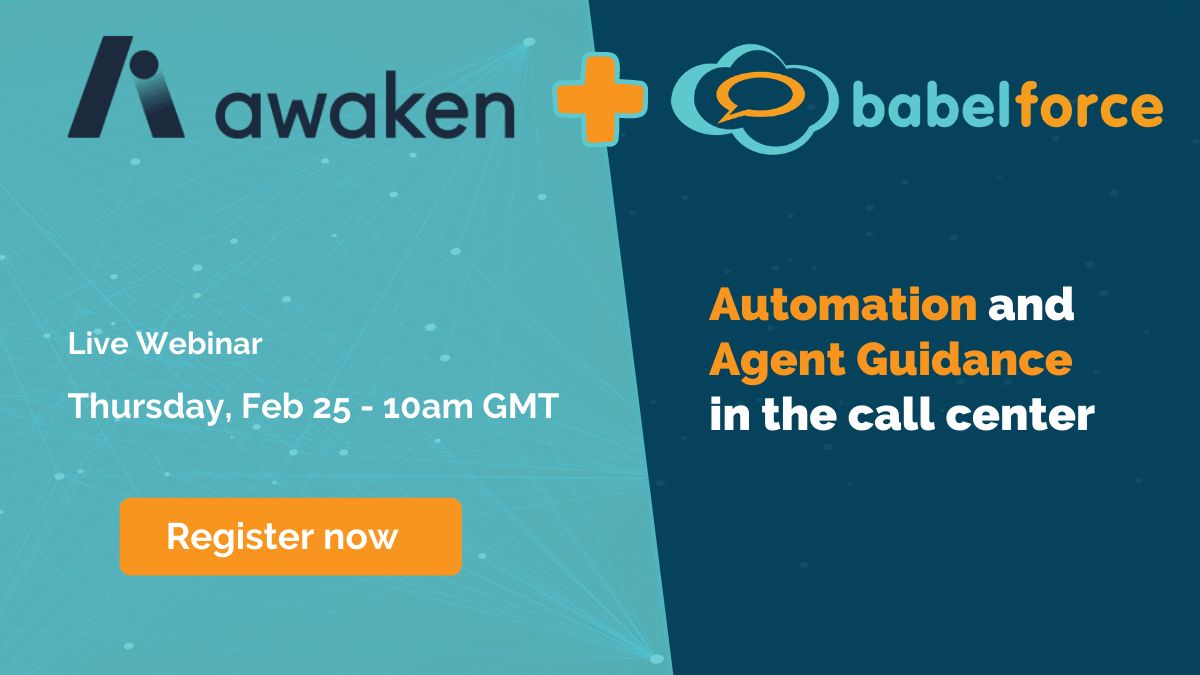 Awaken and babelforce 25.02 Live Webinar