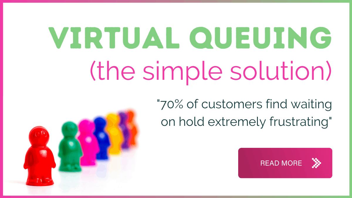 Virtual queuing