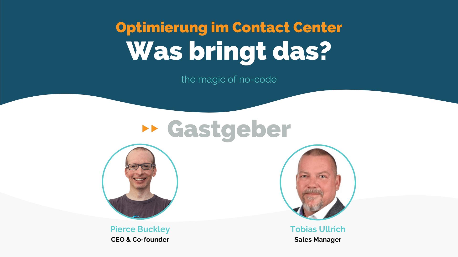 W7 DE - Optimierung im Contact Center - Was bringt das_