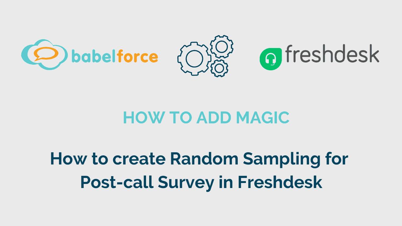Add magic video_create random sampling in freshdesk