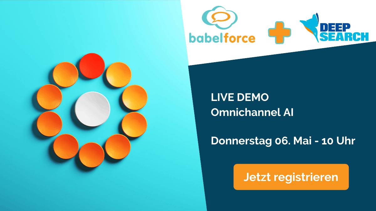 Deepsearch - babelforce 06.05 Live Demo