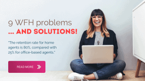 work from home call center