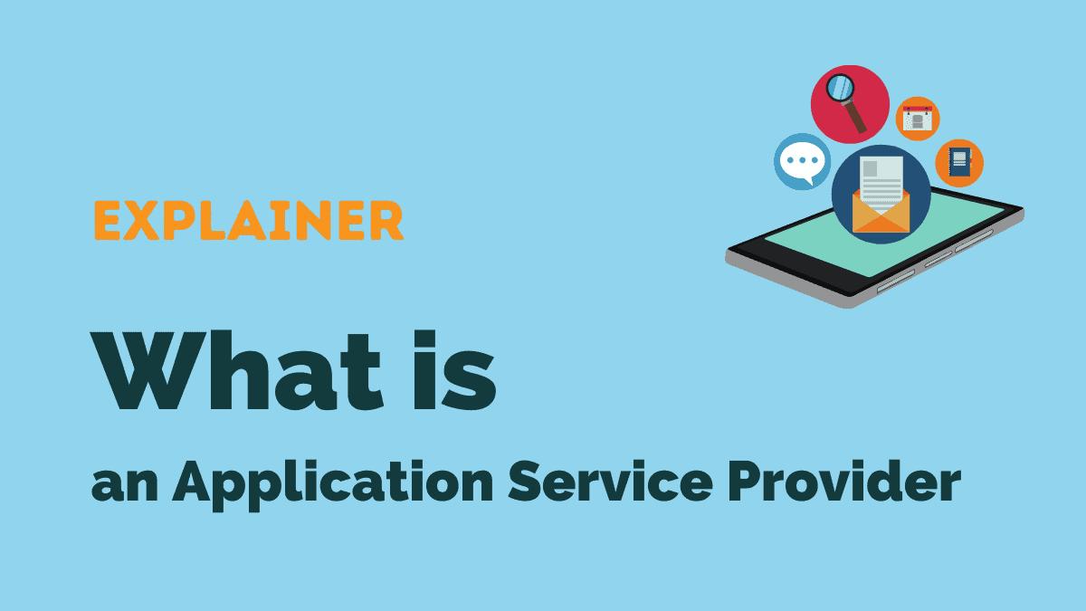 application service provider