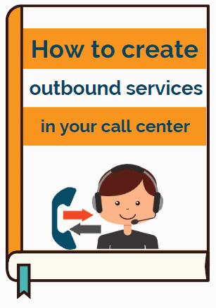Outbound contact center services