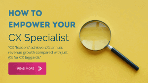 customer experience specialist