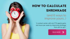 Call Center Shrinkage