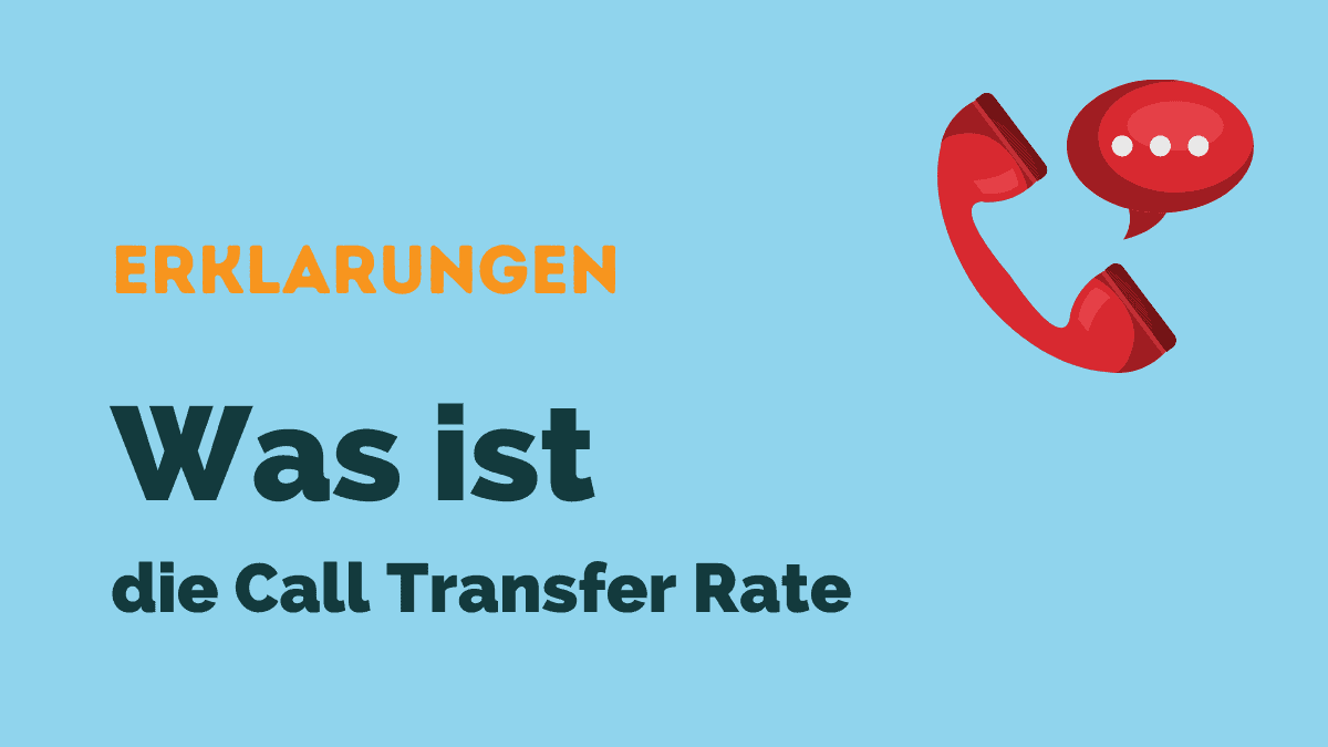 call transfer rate