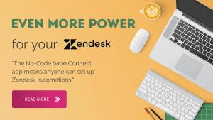 Zendesk integration